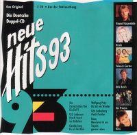 Cover  - Neue Hits 93 - Die deutsche Doppel-CD