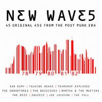 Cover  - New Waves - 45 Original 45s From The Post Punk Era