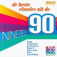 Cover  - Nostalgie - De 5 op een rij 500: De beste classics uit de nineties