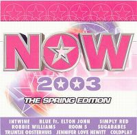 Cover  - Now 2003 - The Spring Edition