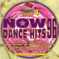 Cover  - Now Dance Hits 96 Volume 4