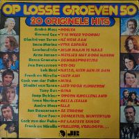 Cover  - Op losse groeven 50 - 20 originele hits