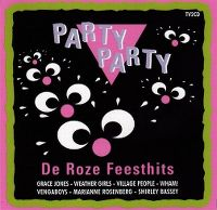 Cover  - Party Party - De roze feesthits