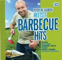 Cover  - Peter De Clercqs heetste barbecue hits