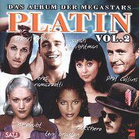 Cover  - Platin Vol. 2 - Das Album der Megastars