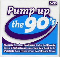 Cover  - Pump Up The 90's