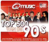 Cover  - Q Music - Het beste uit de Top 500 van de 90's (2013)
