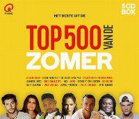 Cover  - Q Music - Het beste uit de Top 500 van de zomer (2016)