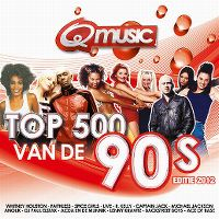 Cover  - Q Music - Top 500 van de 90's - Editie 2012