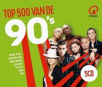 Cover  - Q Music Top 500 van de 90's (2018)