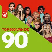Cover  - Q Music Top 500 van de 90's (2019)