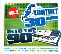 Cover  - Radio Contact 30 ans - Into The 90's vol. 2