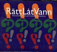 Cover  - Rätt låt vann - Melodifestivalen 40 år: Vinnarna