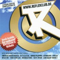 Cover  - ReflexClub 25Years Compilation CD