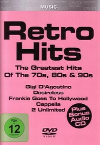 Cover  - Retro Hits - The Greatest Hits Of The 70s, 80s & 90s