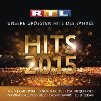 Cover  - RTL Hits 2015 - Unsere grössten Hits des Jahres