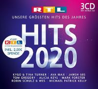 Cover  - RTL Hits 2020 - Unsere grössten Hits des Jahres