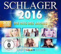 Cover  - Schlager 2016 - Die Hits des Jahres