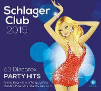 Cover  - Schlager Club 2015 - 63 Discofox Party Hits