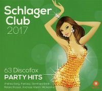 Cover  - Schlager Club 2017 - 63 Discofox Party Hits