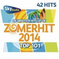 Cover  - Sky Radio - De grootste hits uit de Zomerhit Top 101 - 2014