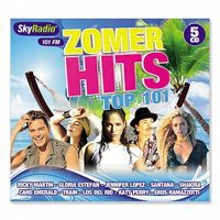 Cover  - Sky Radio Zomer hits top 101 - 2012