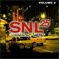 Cover  - SNL 25 - Saturday Night Live, The Musical Performances Volume 2