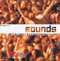 Cover  - Sounds - Live! Die besten Festival-Acts 2005