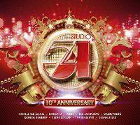 Cover  - Studio 54 - 10th Anniversary