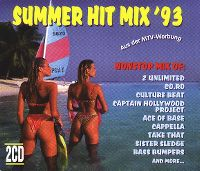 Cover  - Summer Hit Mix '93