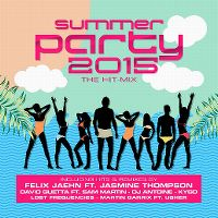 Cover  - Summer Party 2015 - The Hit-Mix