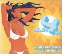 Cover  - Sun 4's - 46 Hot Dance Tracks