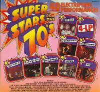 Cover  - Super Stars Of The 70's - 48 Electrifying Performances