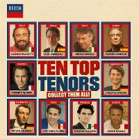 Cover  - Ten Top Tenors