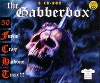 Cover  - The Gabberbox - 50 Fuckin' Crazy Hardcore Traxx!!!