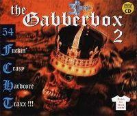 Cover  - The Gabberbox 2 - 54 Fuckin' Crazy Hardcore Traxx!!!