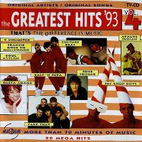 Cover  - The Greatest Hits '93 Vol. 4