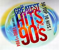 Cover  - The Greatest Hits Of The 90's – Part One 1990 To 1994