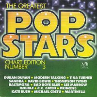 Cover  - The Greatest Pop Stars Number 3