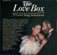 Cover  - The Love Box Vol II - 75 Love Song Sensations