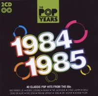 Cover  - The Pop Years - 1984-1985