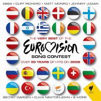 Cover  - The Very Best Of The Eurovision Song Contest - Over 50 Years Of Hits On 3 CDs