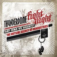 Cover  - Thunderdome - Fight Night