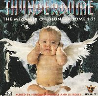 Cover  - Thunderdome - The Megamix Of Thunderdome 1-5!