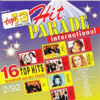 Cover  - Top 13 (92) Hit Parade International 2/92