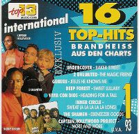 Cover  - Top 13 (93) 16 Top-Hits brandheiss aus den Charts 1/93