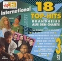Cover  - Top 13 (93) 18 Top-Hits brandheiss aus den Charts 3/93