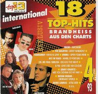 Cover  - Top 13 (93) 18 Top-Hits brandheiss aus den Charts 4/93