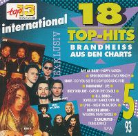 Cover  - Top 13 (93) 18 Top-Hits brandheiss aus den Charts 5/93