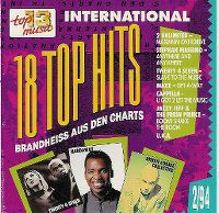Cover  - Top 13 (94) 18 Top Hits brandheiss aus den Charts 2/94